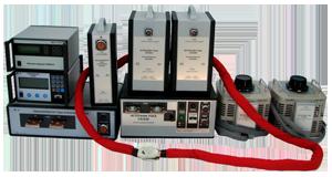 Комплекс оборудования для поверки трансформаторов