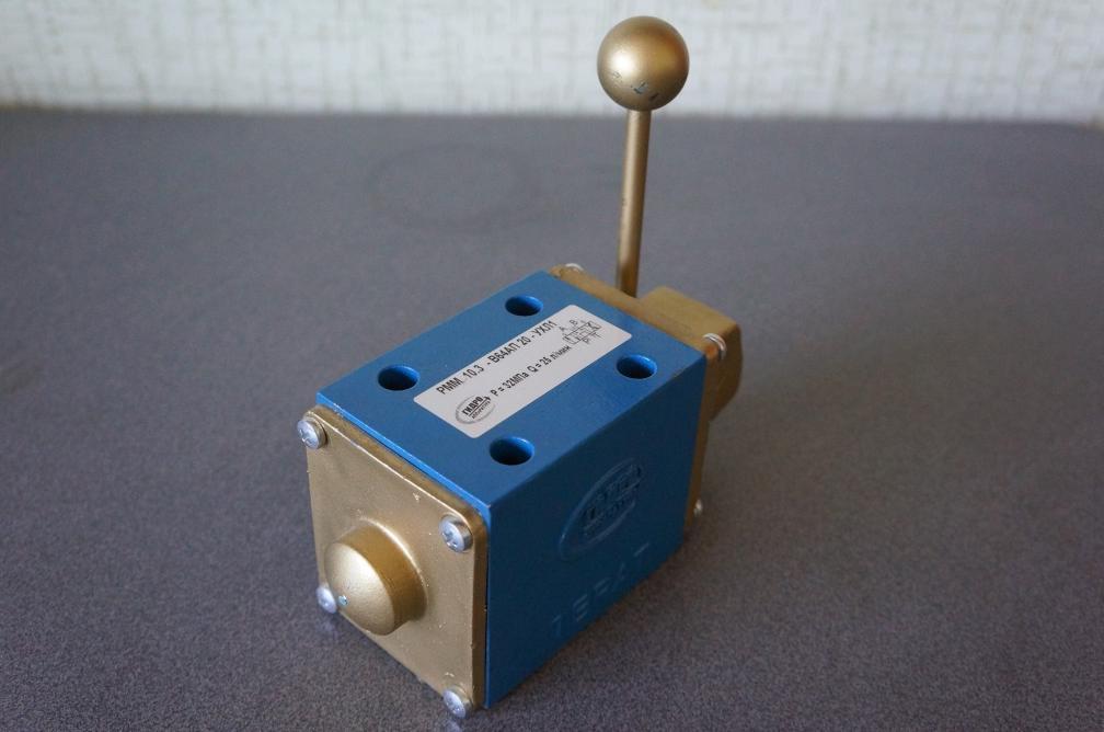 Гидрораспределители РММ 10 стыкового монтажа четырехлинейные с ручным управлением мускульный предназначен для...