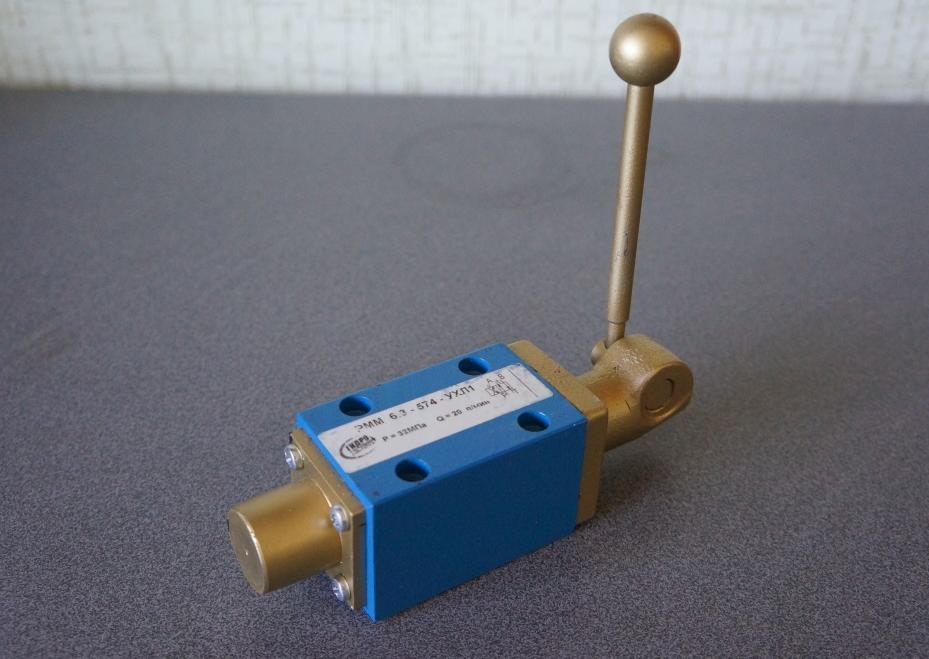 Гидрораспределитель с ручным управлением мускульный рмм 6.3.
