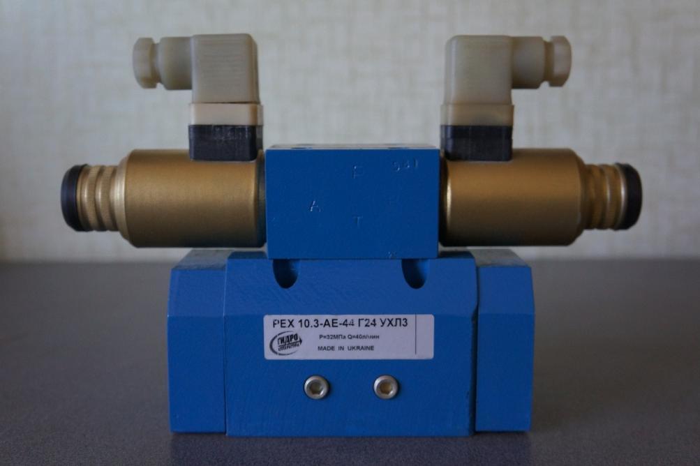 Гидрораспределители РЕХ 10 стыкового монтажа четырех и пятилинейное с электрогидравлическим управлением предназначены...