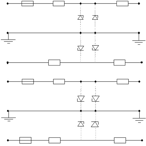 Схема 2А и 2Б
